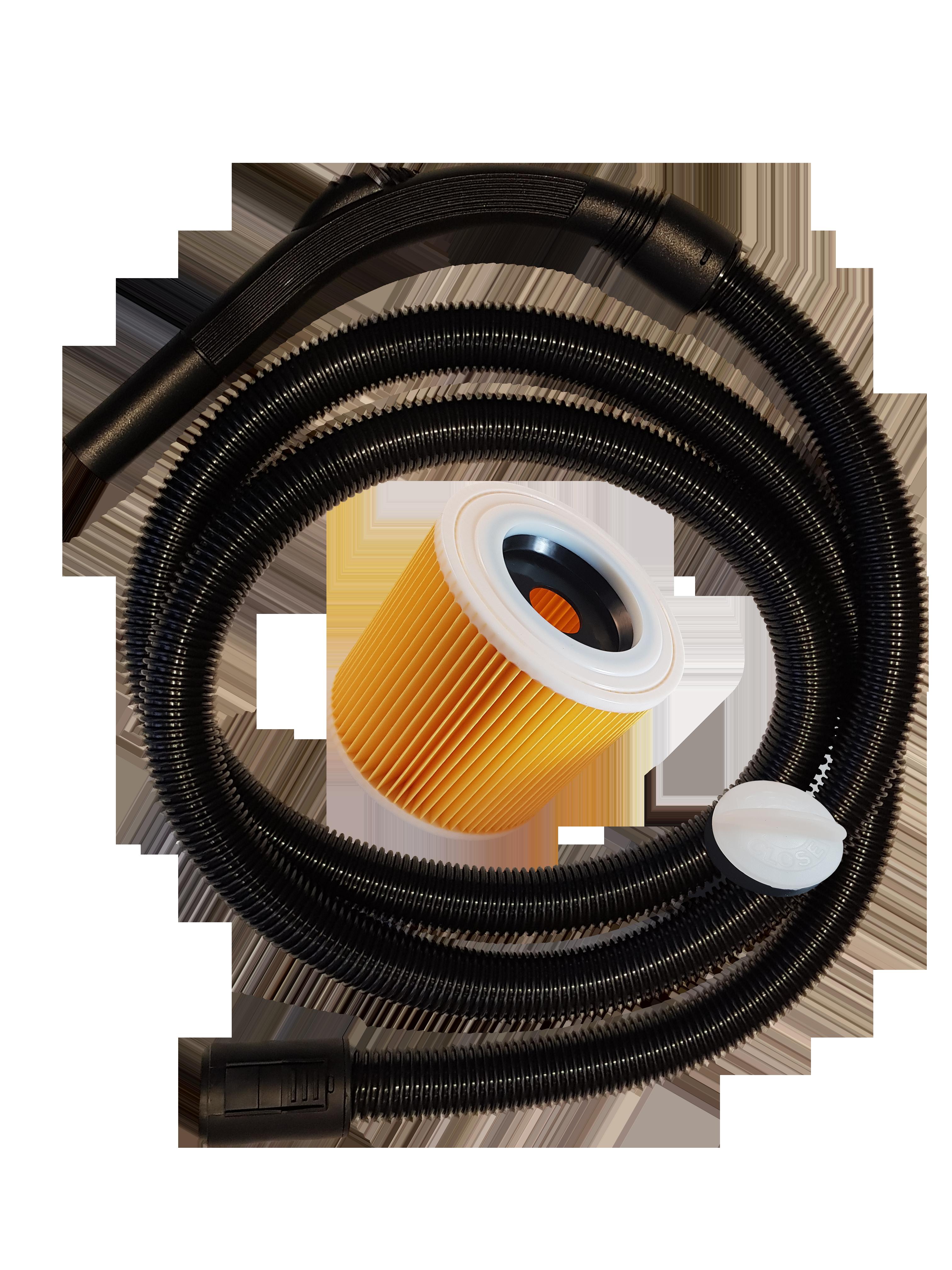 Vlies Staubsaugerbeutel geeignet für  Kärcher WD 7.200 WD7.200 WD 7300 WD7300