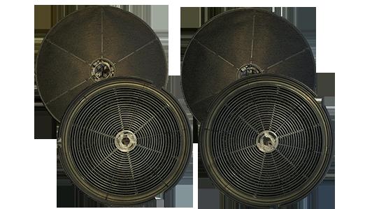 Mega sparset aktivkohle kohle filter für dunstabzugshaube